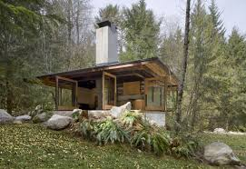 cabin design compact river cabin design in washington