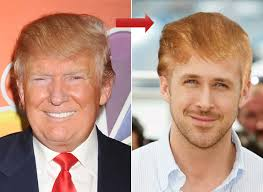 can you get a haircut where you can wear it as a bob and flipped try on donald trump s hair with our hollywood makeover tool