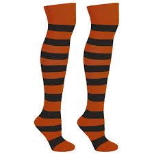 halloween socks striped knee high socks mato u0026 hash
