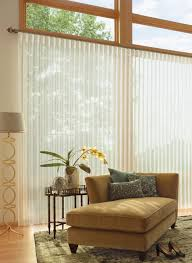 best window coverings for a sliding glass door smart window
