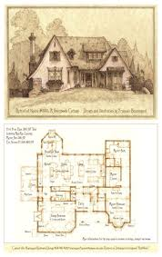 best 25 rectangle house plans ideas on pinterest tudor inspired asymmetrical design suitable for narrow or wide lot perspective portrait and floor plan drawn in pencil updated on oct for additional