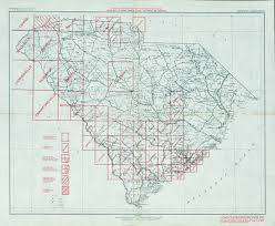 Map South Carolina Coast South Carolina Historical Topographic Maps Perry Castañeda Map