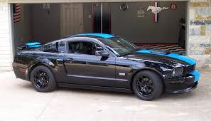 Black Mustang Post Pics Of Ur Wheels On Ur Black Mustangs The Mustang Source