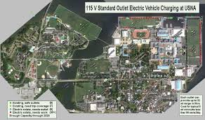 Commute Map Ev Charging Potential At Usna