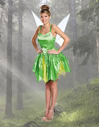 Tinkerbell Halloween Costume Adults Womens U0026 Kids Fairy Costumes Halloweencostumes