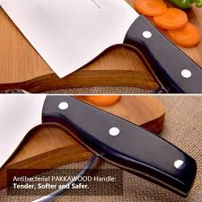amazon com spevorix 7 inch stainless steel chinese chefs knife