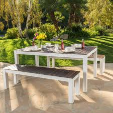 picnic table cover set 3 piece picnic table cover set fresh bali outdoor 3 piece wood