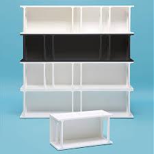librerie vendita librerie modulari in mdf laccato bianco o antracite seletti
