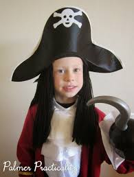 Captain Hook Halloween Costume Palmer Practicality Homemade Pirate Wig