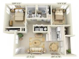 2 bed 2 bath floor plans 3d floor plan image 1 for the 2 bed 2 bath floor plan of property