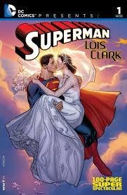 superman wedding album dc comics presents superman lois and clark 100 page