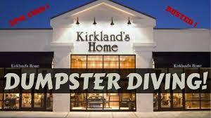 dumpster diving at kirklands jackpot busted dumpster dive