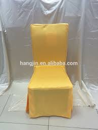 yellow chair covers polyester jacquard dining room chair cover yellow color banquet