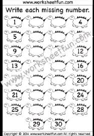 count to 30 free printable worksheets u2013 worksheetfun