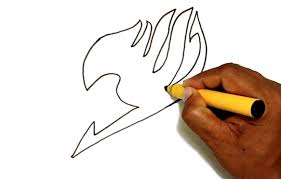 how to draw the fairy tail logo youtube