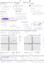 algebra 2 graphing piecewise functions worksheet