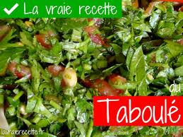 cuisine libanaise recette la vraie recette du taboulé libanais ça va tabouler faire du