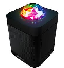 light up bluetooth speaker sharper image sbt613 bluetooth speaker with lights speaker that