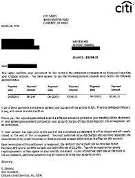 sample debt settlement agreement debt settlement letter