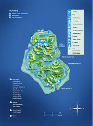 Tahiti Map World by Huhuine Huahine Island Guide French Polynesia Huahine