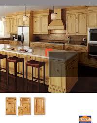 Alder Kitchen Cabinets by Alder Cabinets Knotty Alder Kitchen By Don Justice Cabinet Makers