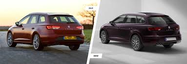 seat leon leon sc u0026 leon st facelift old vs new carwow