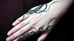 feather mehendi jagua design tutorial 17 henna temporary tattoo