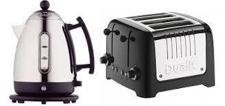 Dualit Toaster And Kettle Set Dualit 1 5 Litre Black Jug Kettle 72400 U0026 4 Slice Lite Toaster