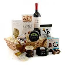 Wine Gift Basket Cheese And Wine Gift Basket Cheese Lover U0027s Luxury Hamper