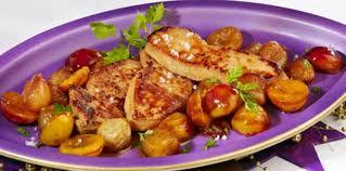 cuisiner foie gras escalopes de foie gras aux mirabelles facile recette sur cuisine