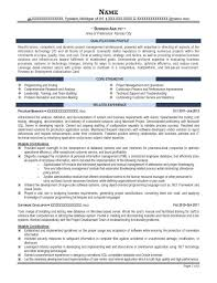 resume template business analyst word good intended for saneme