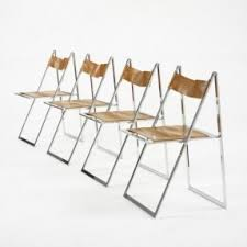 Folding Dining Chairs Wood Modern Folding Chairs Foter