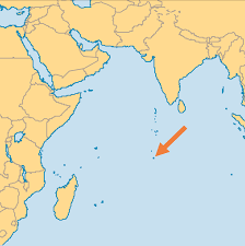 Map Of Oceans British Indian Ocean Territory Operation World
