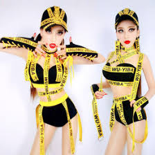 Hip Hop Halloween Costumes Girls Discount Female Hip Hop Clothes 2017 Female Hip Hop