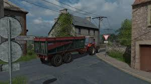 Seeking Trailer Fr Trailer Lyonnet Turbo 12 V 1 For Fs17 Farming Simulator 17 Mod