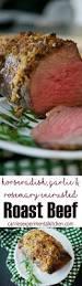 horseradish sauce for beef horseradish garlic u0026 rosemary encrusted roast beef