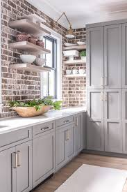 what wall color looks with grey cabinets ᐉ 24 best modern kitchen with gray cabinets design ideas