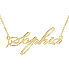 Custom Name Necklace Gold Name Necklaces Personalized Name Necklaces