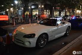 Dodge Viper Lime Green - dodge viper srt 10 roadster white mamba edition 23 october 2016