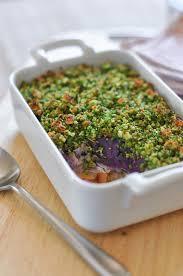 cuisiner l igname gratin d igname violet et persillade recette interfel les fruits