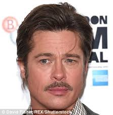 hairstyles for front cowlicks hair sported by brad pitt and others found to be due to tumour