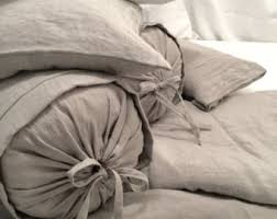 linen duvet set ca king king queen full twin stonewashed