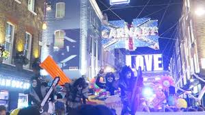 carnaby street london kingly court christmas lights party youtube