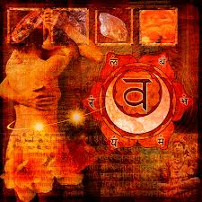 sacral chakra location sacral chakra digital art by mark preston