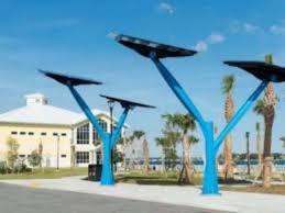 solar trees shade panels could enhance sebastian parks