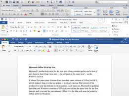 microsoft word publishing layout view microsoft office 2016 for mac review it pro