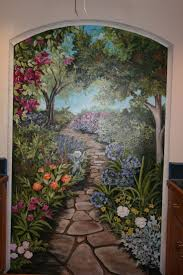 82 best art to get lost in images on pinterest mural ideas wall take a walk through the garden mural idea in berkeley ca