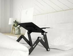 lying down laptop stand gadget flow