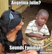 Angelina Jolie Meme - angelina jolie create your own meme