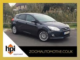 2012 ford focus titanium x 1 6 tdci metallic grey 5 door hatch